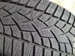 Tyre wear patterns